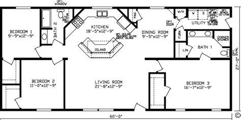 3 Bedroom 2 Bath Open Floor Plans (photos And Video