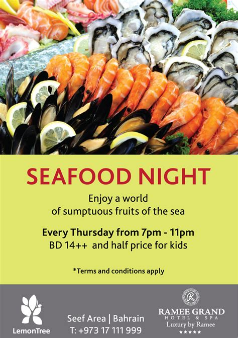 seafood night whatsupbahrainnet
