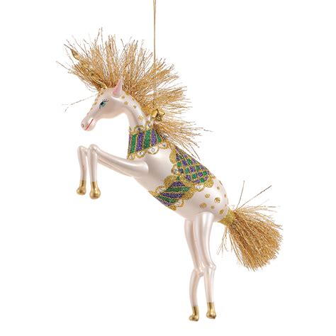 jinglenog eunice unicorn christmas ornament gump s