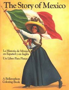 History of Mexico Reader and Coloring Book | Vibrante Press