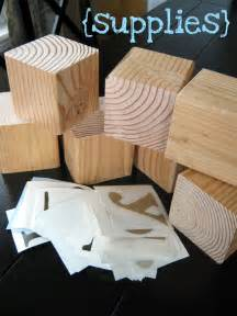 Crafts with Wood Blocks