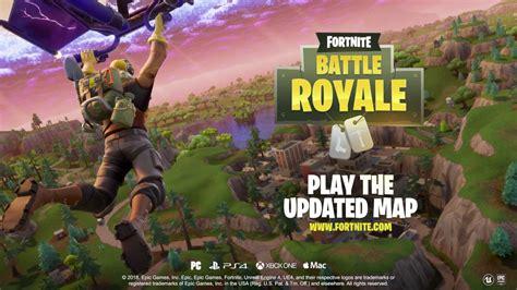 fortnite battle royale map update youtube