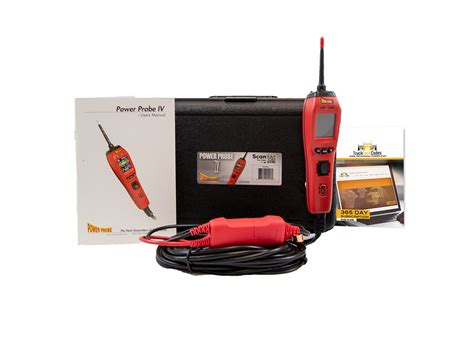 Power Probe Red Accessories Bundled With Truck Fault
