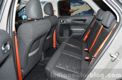 Citroen C4 Cactus Rip Curl Rear Seat At The 2018 Geneva