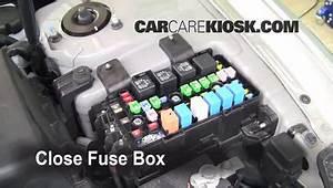 Replace A Fuse  2006-2010 Hyundai Sonata