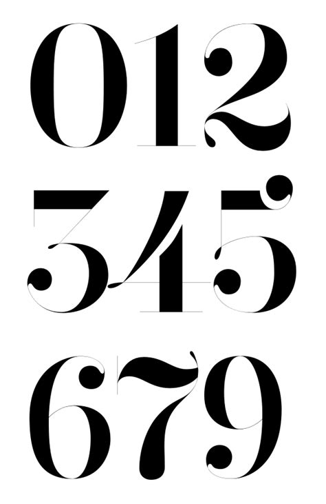 Your latest designs? | Typophile | The Typography Board | Tattoo lettering fonts, Numeric fonts