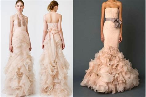 blush colored wedding gowns best 25 blush colored wedding dress ideas on