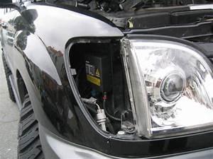 How To Retrofit Hid  Xenon  Headlights Into Lx470