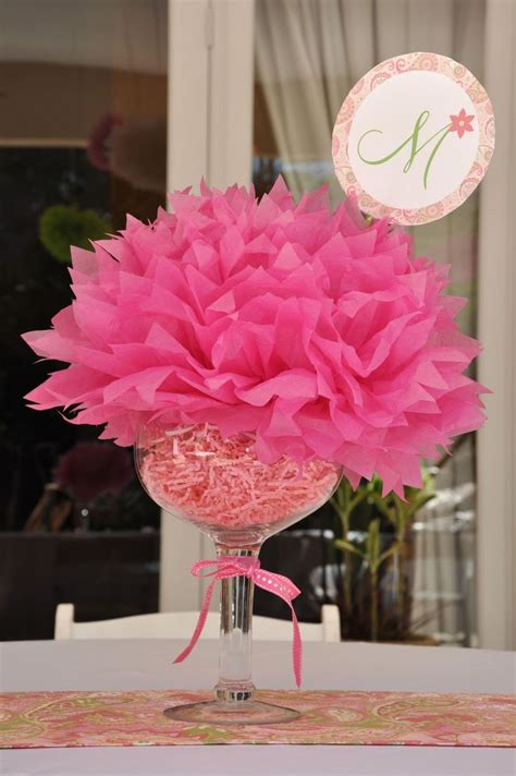 easy centerpieces pretty and paisley 1st birthday party shower centerpieces buckets and small buckets