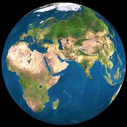 Planet Earth World Map