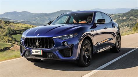 maserati levante trofeo review ferrari engined suv tested