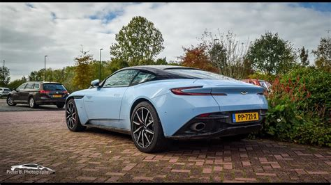 Martin Blue by Baby Blue Aston Martin Db11 Start Up And Revs