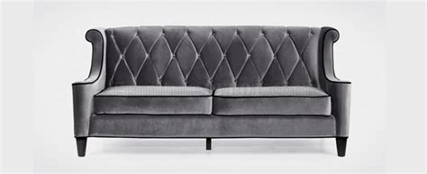 Barrister Loveseat by Gray Barrister Sofa Loveseat Set W Options And Black Piping