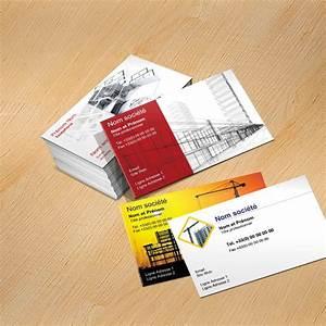Carte De Visite Original : mod le carte de visite construction personnaliser carte professionnelle ~ Melissatoandfro.com Idées de Décoration