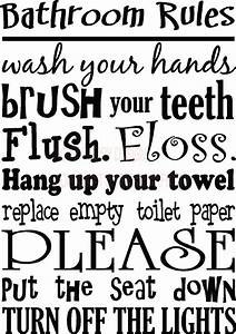 cute bathroom quotes quotesgram With cute sayings for bathroom walls