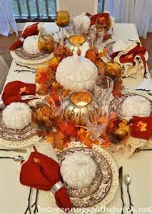 5 autumn table settings
