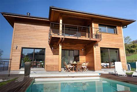 maison d architecte en bois avec piscine savoie maison bois architecte