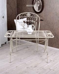 Couchtisch Weiß Antik : couchtisch gartentisch weiss metalltisch garten tisch shabby chic ~ Sanjose-hotels-ca.com Haus und Dekorationen