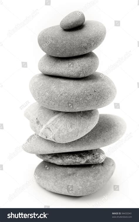 Steine Aufeinander Gestapelt by Stones Stacked On Top Each Other Stock Photo 94433341