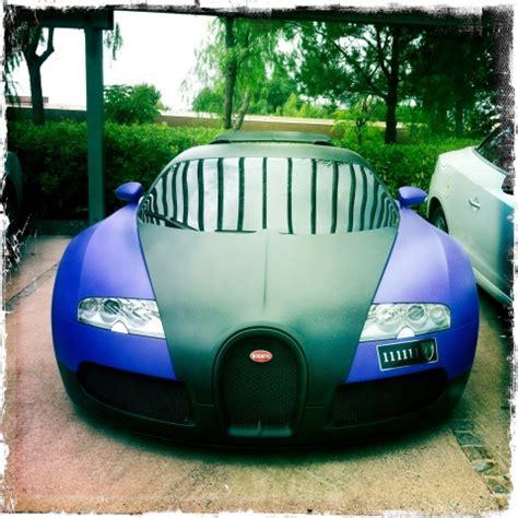 Your destination for buying bugatti. Spotted: Matte Black/Purple Bugatti Veyron in St. Tropez ...