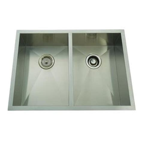 are mirabelle sinks mirabelle miruc2920ze stainless steel undermount
