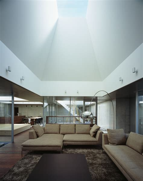 Dachluke Haus by Gallery Of Square Skylight House Nks Architects 4