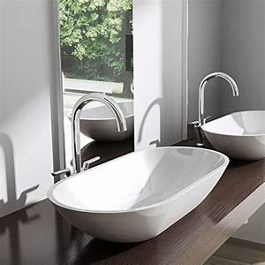 Waschbecken Oval Aufsatz : aufsatz waschbecken colossum813 mineralguss oval rund ~ A.2002-acura-tl-radio.info Haus und Dekorationen