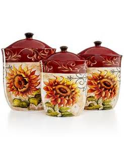 sunflower canisters for kitchen tuscan sunflower kitchen decor best home decoration class