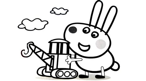 Coloring Book For Children Peppa Pig Coloring Pages Fun