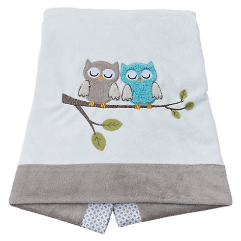 babydecke eule grau 75 x 100 cm be be s collection mytoys
