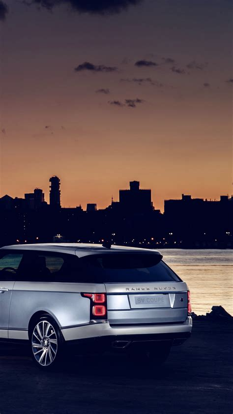 wallpaper land rover range rover sv coupe  cars suv