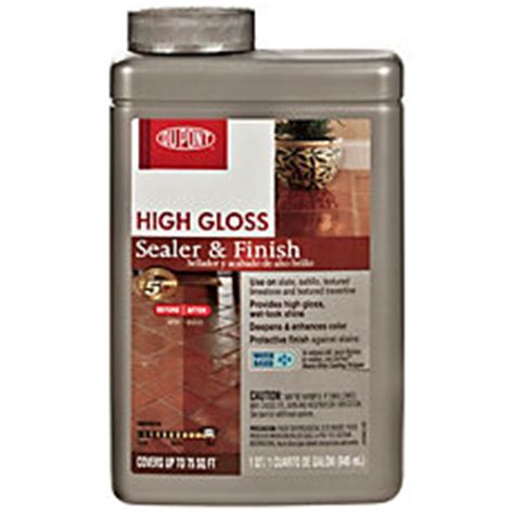 high gloss grout sealer dupont high gloss sealer and finish floor and decor