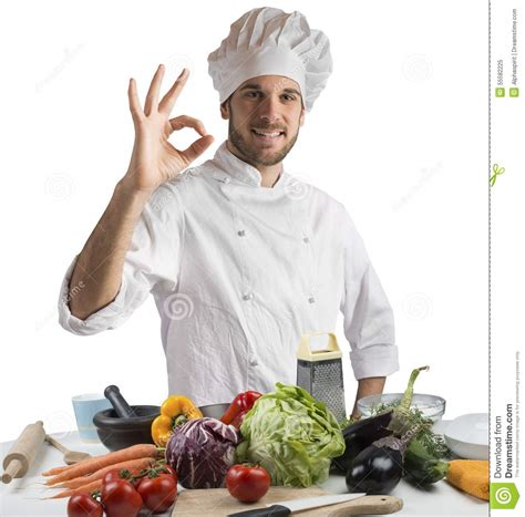 cuisine de a z chef cuisine of expert chef stock photo image 55582225