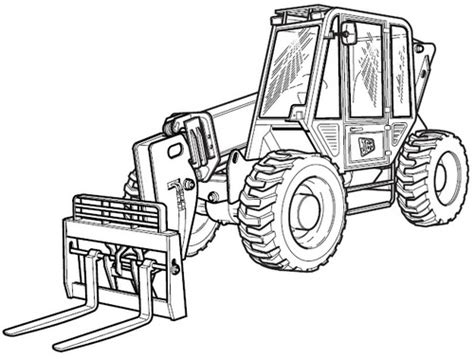 Jcb 506c Wiring Diagram For Forklift by Jcb 506c 506chl 508c Loadalls Telescopic Handler Service