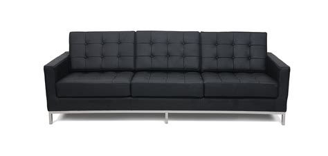 canape knoll canap 233 3 places style florence knoll simili cuir pas