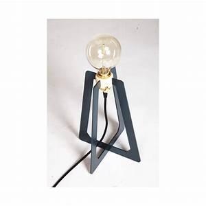 Lampe De Bureau Bois Brilliant Lampe De Bureau En Mtal Et