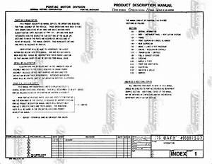 1975 Pontiac Firebird And Trans Am Bound Assembly Manual