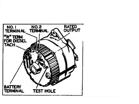 Cj5 3 Wire Alternator Wiring Diagram by Charging System Diagram For A 1980 Jeep Cj5 151 Engine