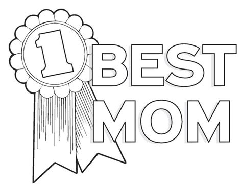 mom coloring page coloring book
