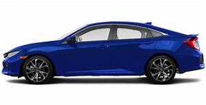 2019 Honda Civic Si Sedan Blue