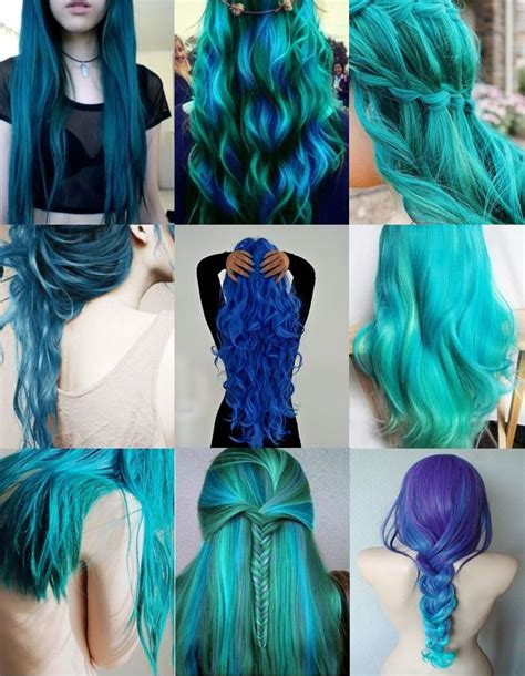 Best 25 Blue Green Hair Ideas On Pinterest Teal Hair