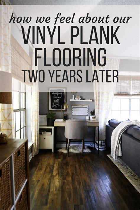 vinyl plank flooring review  years  love