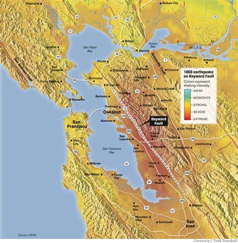 Hayward Fault is our deadliest - a 'tectonic time bomb ...