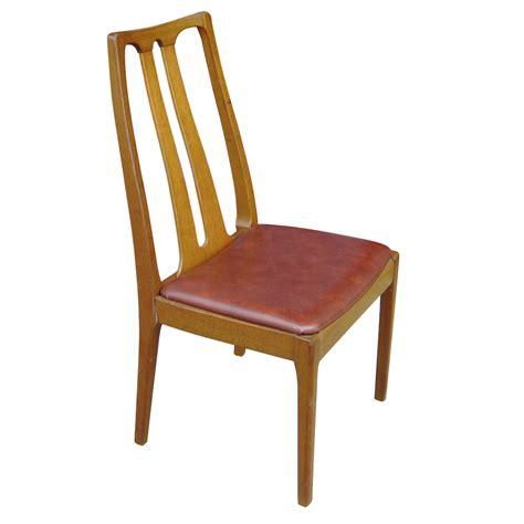 dining chairs 6 danish mid century modern dining chairs ebay