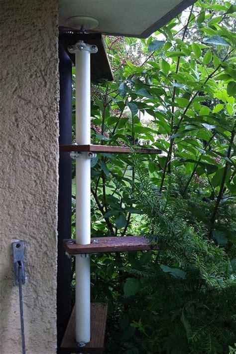stolmen outdoor cat ladder ikea hackers