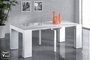 Console Transformable En Table : desserte transformable table ~ Teatrodelosmanantiales.com Idées de Décoration