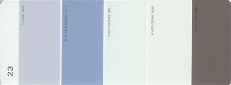 martha stewart paint 5 color palette card 23 thelandofcolor