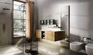 salle de bain industrielle carre d39eau With salle de bain industrielle