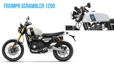 Modification Triumph Scrambler 1200 by Triumph Scrambler 1200 Unveiled Gets Re Gt650 Inspired
