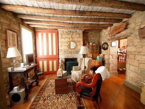 Beautiful Rustic Basement Living, Beautiful Rustic